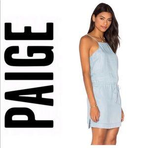 Paige Sleeveless Blouson Dress